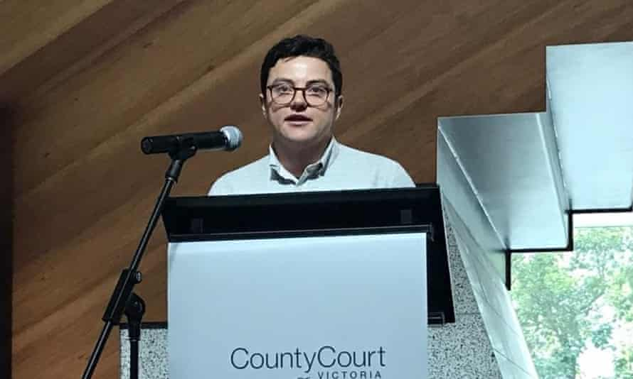 Sam Elkin, lawyer with the Roberta Perkins Law Project, Australia's first trans-led legal service for trans and gender diverse people.
