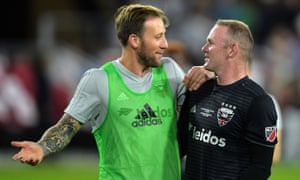 Wayne Rooney helped set up two goals on his DC United debut