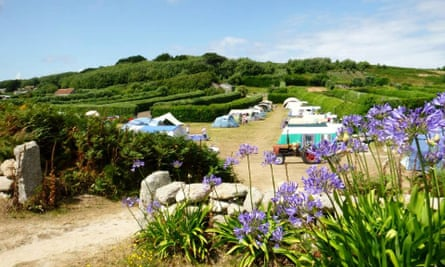 St Martins Campsite, St Martins, Isles of Scilly