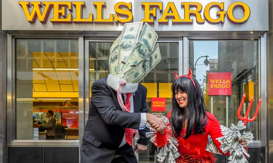 Wells Fargo protest