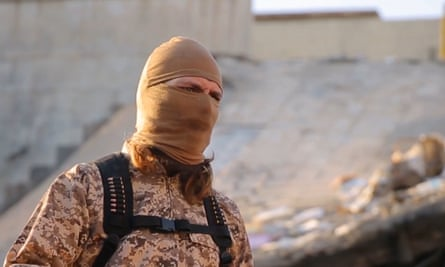 Screengrab from latest Islamic State video