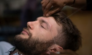 838da498259 Threaded bliss: why more men are getting their eyebrows shaped ...