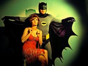 Jill St John and Adam West in the 1966 Batman episode Hi, Diddle Riddle