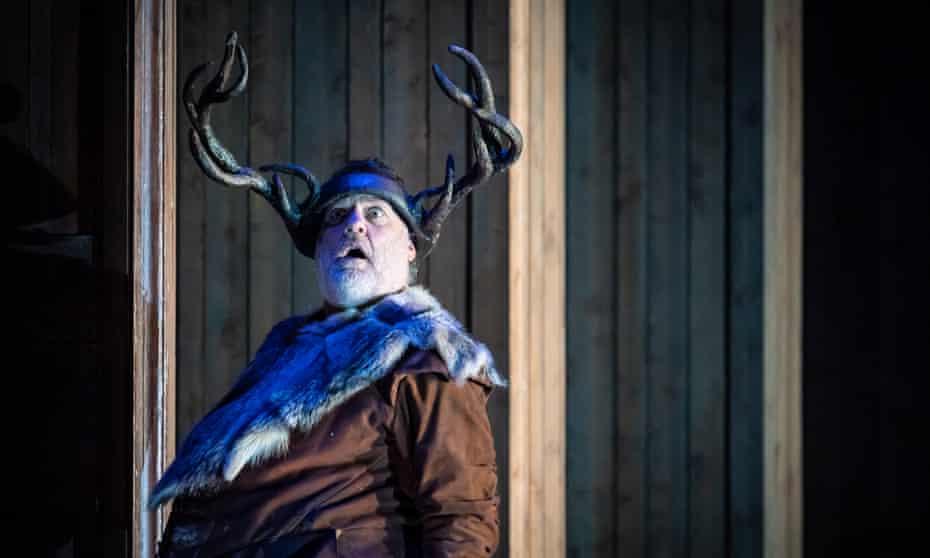 Bryn Terfel as Falstaff at Grange Park Opera.