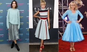 And the pleat goes on … Alexa Chung, Zendaya and Strictly's Kellie Bright