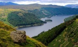 The reservoir at Thirlmere, where Treetop Trek want to site one of Britain's longest and highest zip wires.