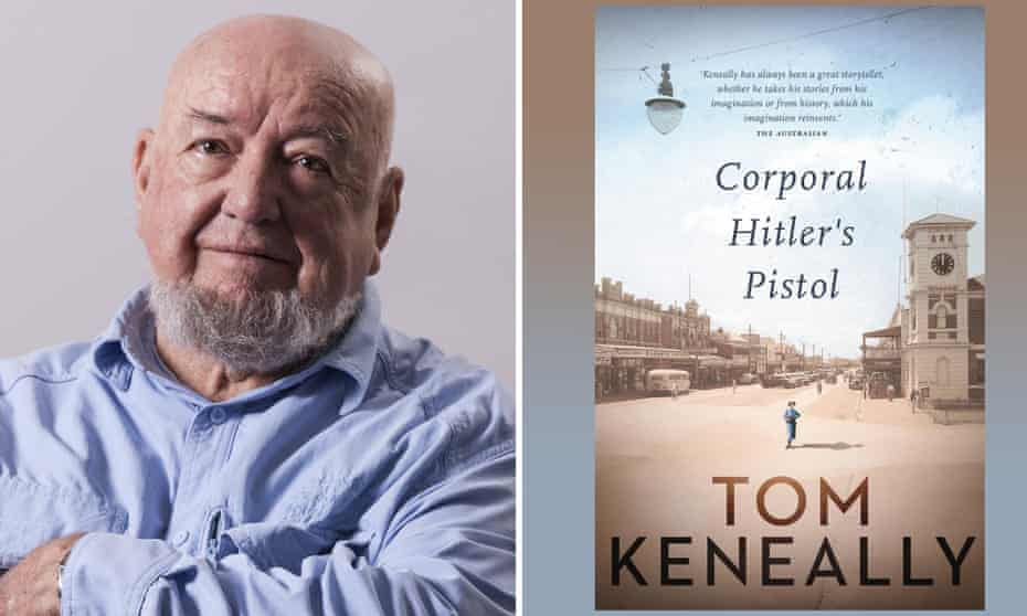 Author Tom Keneally and his new book Corporal Hitler's Pistol