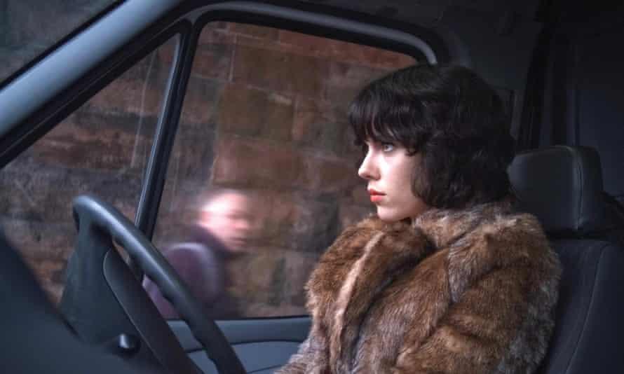 Johansson in Under The Skin, 2013