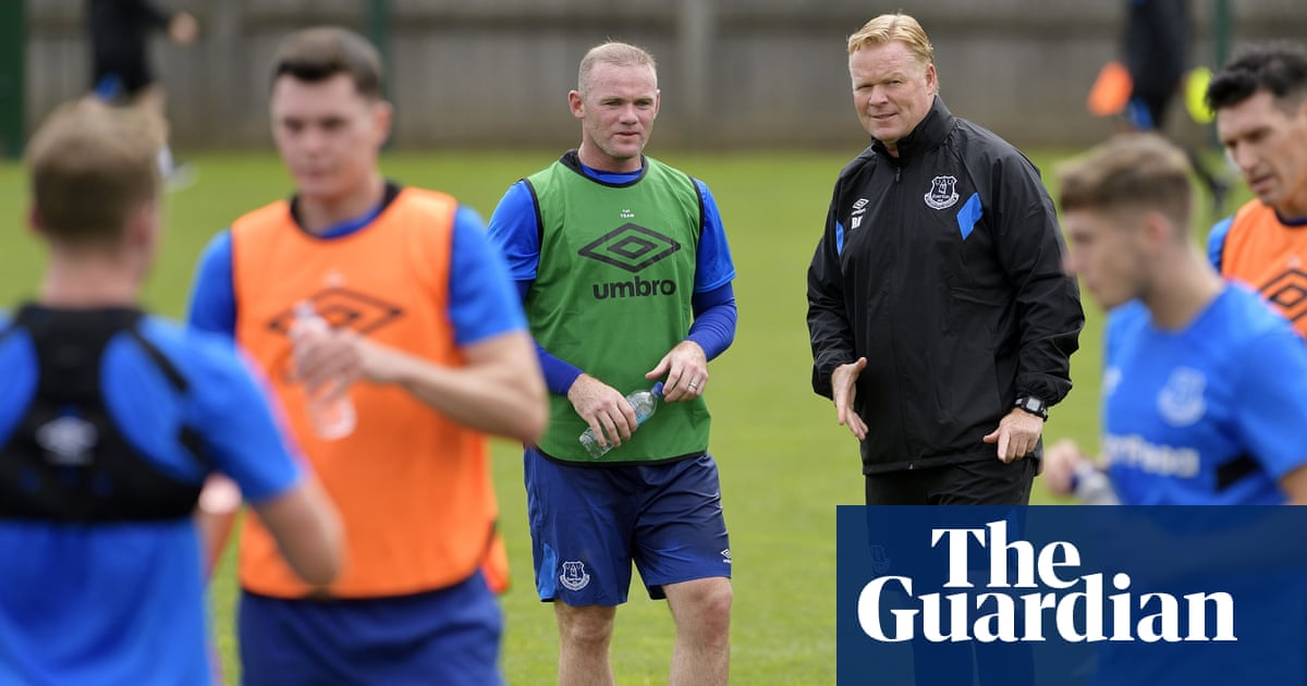 Wayne Rooney rekindles his Everton love affair and wants to play up
