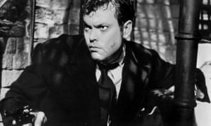 The original disaster capitalist ... Orson Welles in The Third Man.