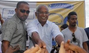 Maldives president-elect Ibrahim Mohamed Solih