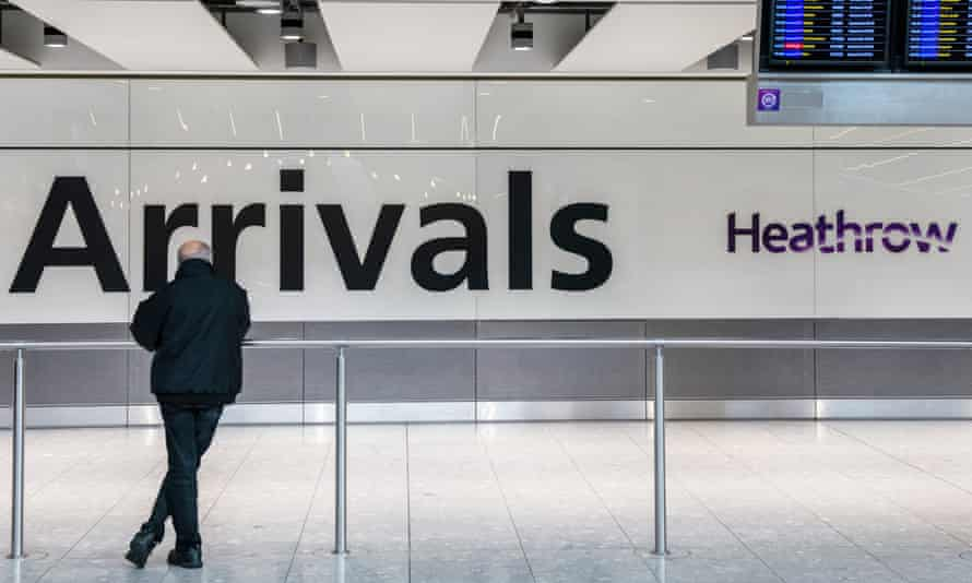 Heathrow expects numbers to remain down throughout March