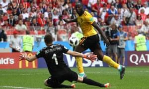 Lukaku scores his second
