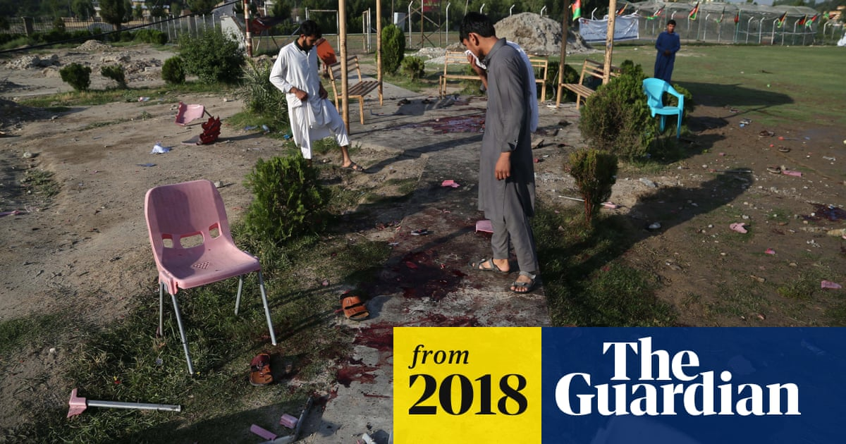 Eight killed in bomb attack on cricket match in Afghanistan