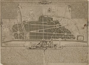 Wren's plan for London. The Great Fire of London and how London was planned again afterwards.