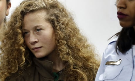 Palestinian Ahed Tamimi accepts plea deal to serve eight months in jail  Prosecution and 17-year-old filmed slapping Israeli soldiers reach  agreement pending ...