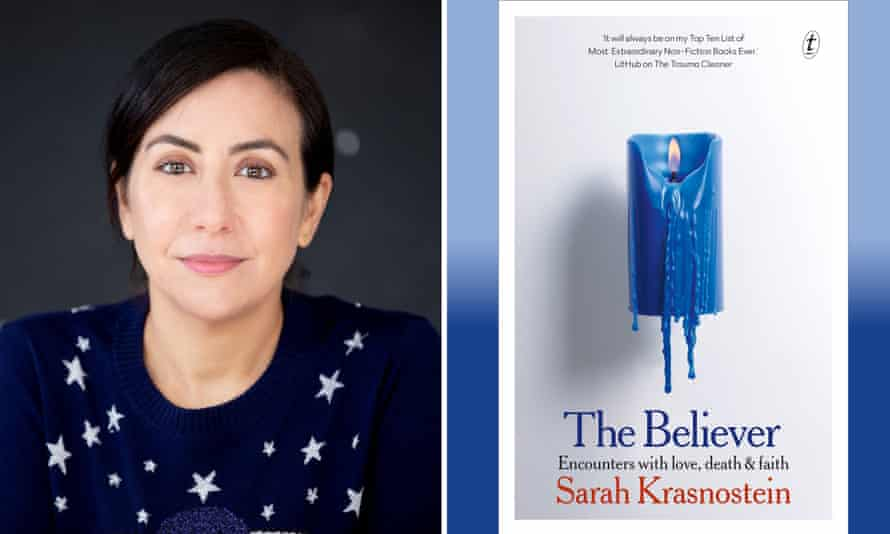 Author Sarah Krasnostein and her new book, The Believer