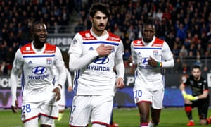Martin Terrier scored the only goal of the game as Lyon beat Rennes on Friday night, a result that may have saved the club's manager.