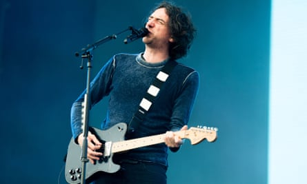 Gary Lightbody of Snow Patrol performing at Firenze Rocks festival, Florence, Italy, 14 June 2019.