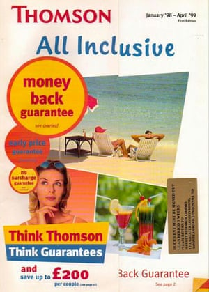 1998 Thomson all inclusive brochure