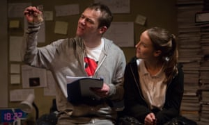 A fittingly happy ending … Owen Whitelaw and Kirsty Mackay in How to Disappear.