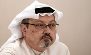 The Saudi journalist Jamal Khashoggi