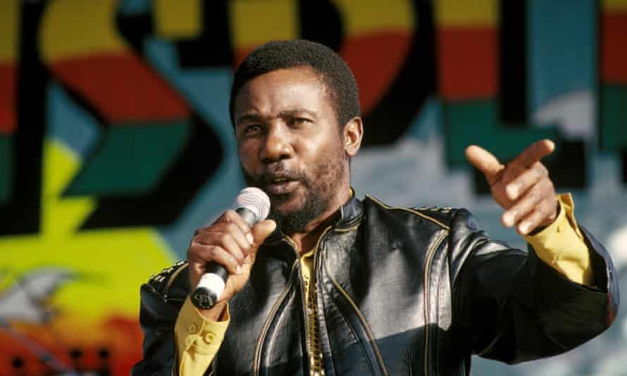 Toots Hibbert at the Reggae Sunsplash music festival, 1993.