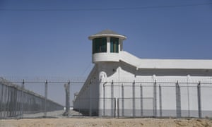 A high-security facility in Xinjiang, China. As many as one million Uighurs and other mostly Muslim minorities are believed to be held in a network of internment camps in the region.