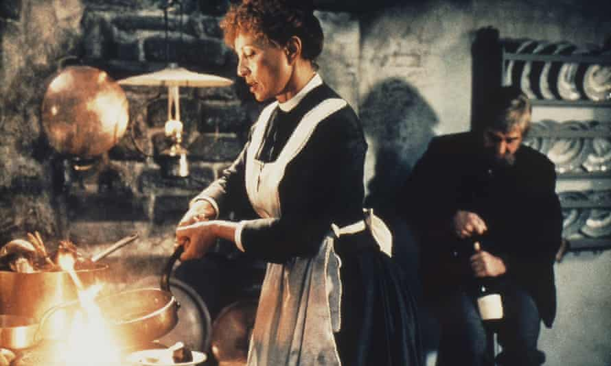 Hot stuff … Babette in her Kitchen from the 1987 film.