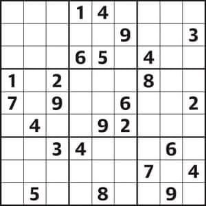 Sudoku 4160 hard 08.09.18