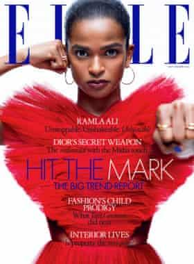 Elle UK's September 2021 cover