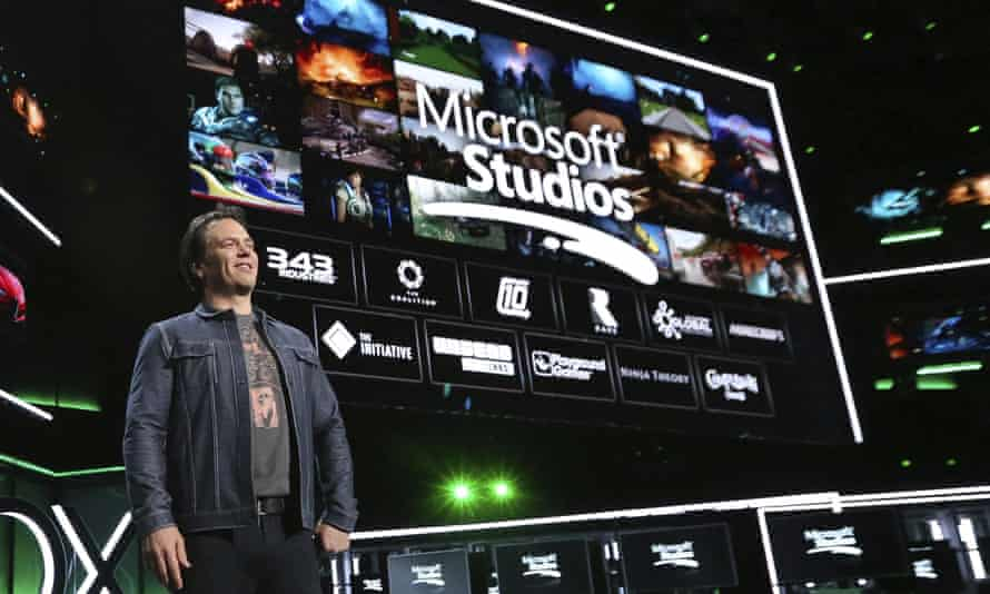 'Creators are a huge focus for us right now' ... Phil Spencer of Microsoft.