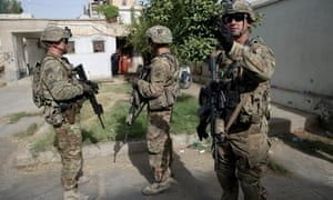 US military forces in Afghanistan