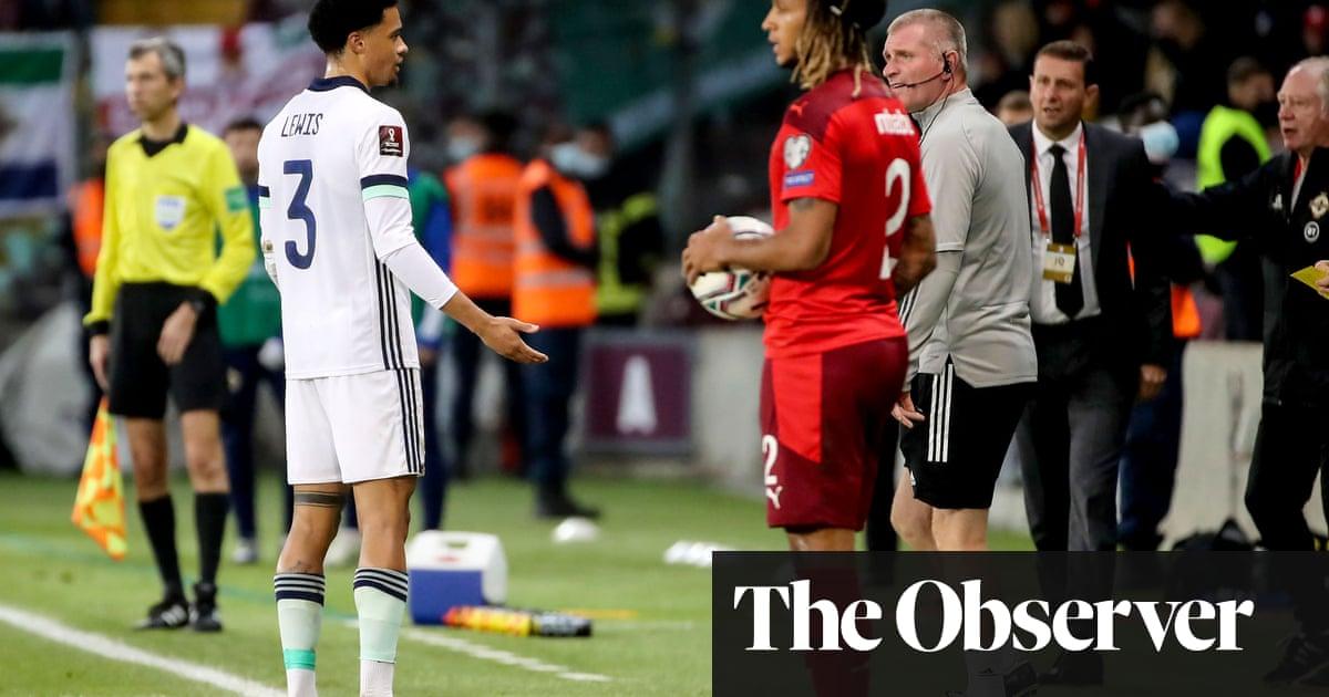 Ian Baraclough slams 'diabolical' red card as Northern Ireland beaten