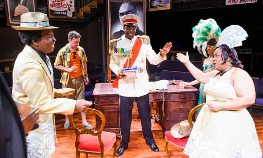 Play Mas by Mustapha Matura at the Orange Tree theatre, Richmond in 2015.