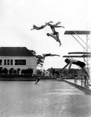Bexleyheath lido opening in 1936