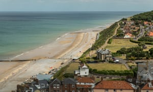 Views from Cromer's clifftop path