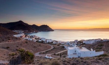 Sunrise at San Jose in AlmeriaSan Jose, Andalusia, Spain