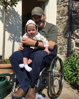 Steve Smithers, who was told his wheelchair repair kit was a security risk.