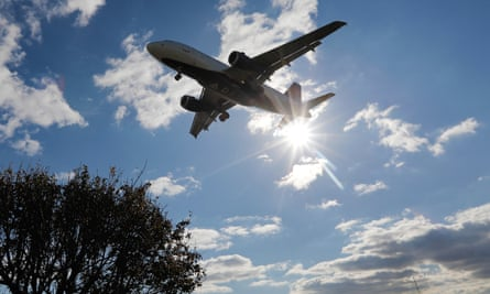 Boris Johnson S Jet Zero Green Flight Goal Dismissed As A Gimmick Air Transport The Guardian