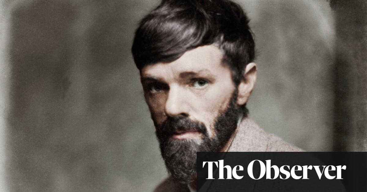 Burning Man: The Ascent of DH Lawrence review – purgatory and paradise with a wild prophet