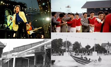 Football quiz: stadiums of yore