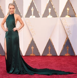 Rachel McAdams. Not into those creases unless they're an homage to the intentionally creased Spotlight wardrobe. Also the Right Leg thing is so beta and that train is going to cause issues in the loo queue.