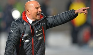 Jorge Sampaoli stepped down as Chile coach in January.