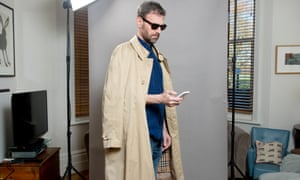 Tim Dowling shoulder robes like a street-style star.