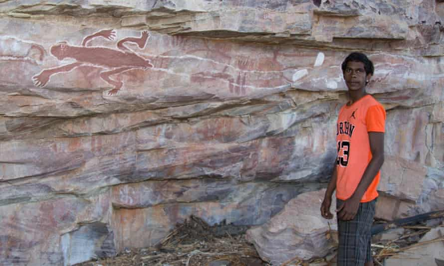 One of the rock art sites