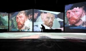 A estreia australiana de Van Gogh Alive em Sydney