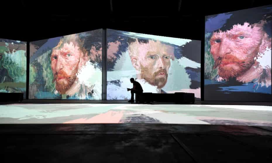 The Australian premiere of Van Gogh Alive in Sydney