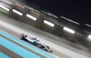 Mercedes' Lewis Hamilton during the race