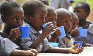Children at a primary school in Zinder, Niger